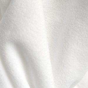 Флис белый
